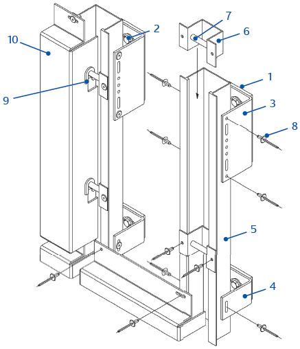 dachrandblende dachrandverkleidung alu berlin aluminium dachrandblende boeba. Black Bedroom Furniture Sets. Home Design Ideas